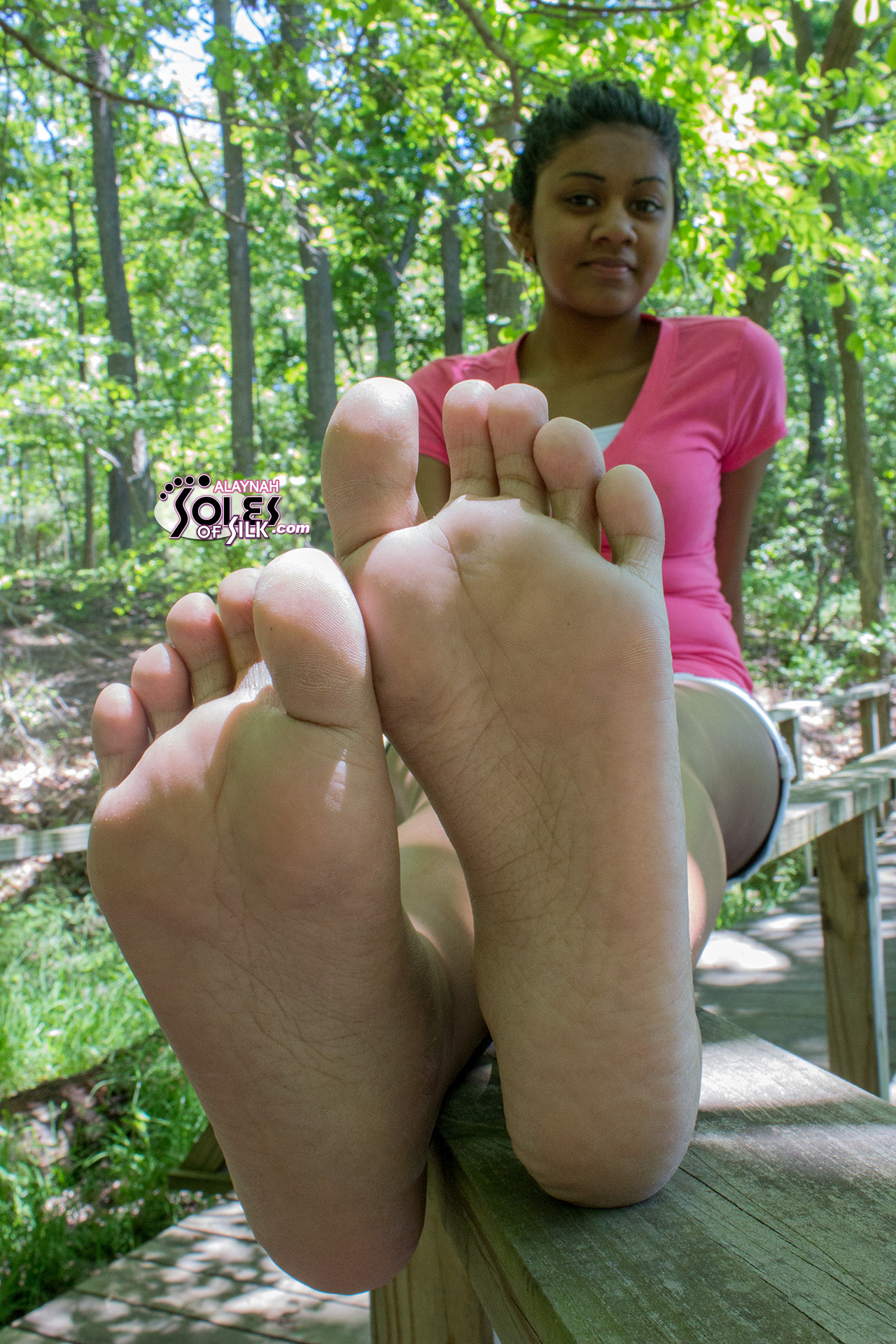 Excellent Nude indian models feet