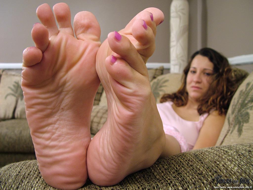 feet Fat ass
